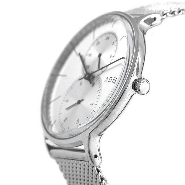 アデクス ADEXE ユニセックス スモールセコンド 41mm 1868C-05 腕時計 グランデ 時計