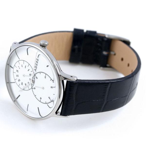 アデクス ADEXE ユニセックス スモールセコンド 41mm 1868D-02 腕時計 グランデ 時計【あす楽対応】