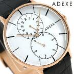 アデクス ADEXE ユニセックス スモールセコンド 41mm 1868D-03 腕時計 グランデ 時計