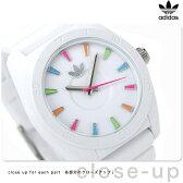 アディダス サンディアゴ クオーツ 腕時計 ADH2915 adidas ホワイト×マルチカラー【あす楽対応】