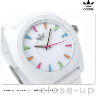 Adidas Santiago quartz watch ADH2915 adidas white / multicolor
