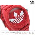 アディダス サンティアゴ ADH6168 adidas 腕時計 レッド ラバーベルト【あす楽対応】