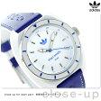 アディダス オリジナルス スタン スミス クオーツ 腕時計 ADH9087 adidas ホワイト×ブルー