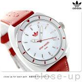 アディダス オリジナルス スタン スミス クオーツ 腕時計 ADH9088 adidas ホワイト×レッド【あす楽対応】