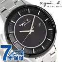アニエスベー ソーラー メンズ 腕時計 FBRD952 agnes b. ブラック