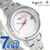 アニエスベー ソーラー レディース 腕時計 FBSD953 agnes b. ホワイト
