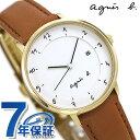 【10月下旬頃入荷予定 予約受付中♪】アニエスベー 時計 マルチェロ 日本製 レディース FBSK944 agnes b. ホワイト アニエス・ベー 腕時計