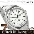 セイコー アルバ ソーラー メンズ 腕時計 AEFD535 SEIKO ALBA デイデイト ホワイト
