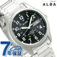 セイコー アルバ ソーラー デイデイト メンズ 腕時計 AEFD560 SEIKO ALBA ブラック
