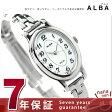 セイコー アルバ ソーラー オーバル レディース 腕時計 AEGD551 SEIKO ALBA ホワイト