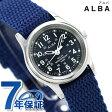 セイコー アルバ ソーラー レディース 腕時計 AEGD556 SEIKO ALBA ネイビー