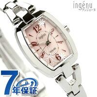 SEIKOセイコーアルバALBAアンジェーヌソーラー腕時計トノーフラワーピンクAHJD058