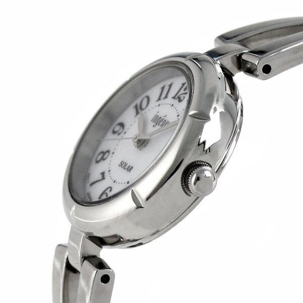 セイコー アルバ アンジェーヌ ブレスソーラー レディース AHJD095 SEIKO ALBA ingenu 腕時計 ホワイト 時計