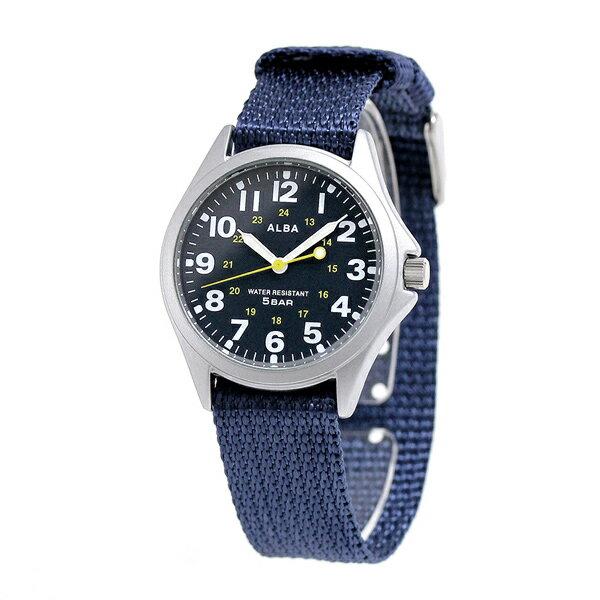セイコー アルバ クオーツ メンズ 腕時計 AQPK402 SEIKO ALBA ネイビー 時計