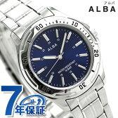 セイコー アルバ スポーツ クオーツ メンズ 腕時計 AQPS002 SEIKO ALBA ネイビー
