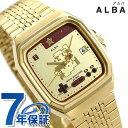 セイコー スーパーマリオ 流通限定モデル メンズ レディース 腕時計 無敵マリオ ファミコン ACCK711 ゴールド キャラクターウォッチ 時計【あす楽対応】・・・