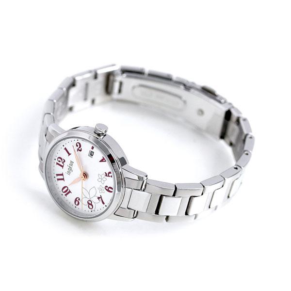 【15日なら全品5倍以上!店内ポイント最大45倍】 セイコー アルバ アンジェーヌ レディース 腕時計 AHJK440 SEIKO シルバー