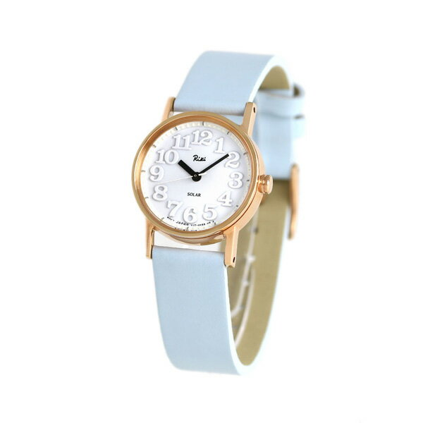 セイコー アルバ リキ ソーラーレディース  腕時計 AKQD033 ALBA Riki ライトブルー