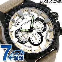 エンジェルクローバーラギッドクロノグラフメンズRG46BSV-BEAngelClover腕時計シルバー