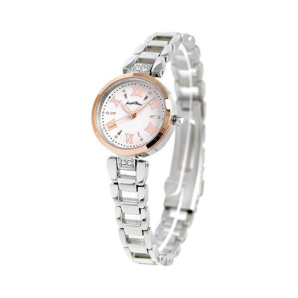 【ノベルティ付き♪】エンジェルハート スパークルタイム ソーラー レディース ST24RSP AngelHeart 腕時計 ホワイト 時計【あす楽対応】