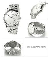 エンポリオアルマーニクラシックAR1867EMPORIOARMANIメンズ腕時計シルバー