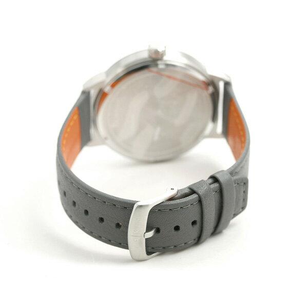 【店内ポイント最大43倍 26日1時59分まで】 アルマーニ 時計 メンズ アルマーニ エクスチェンジ カレンダー 革ベルト AX1462 AX ARMANI EXCHANGE グレー 腕時計【あす楽対応】