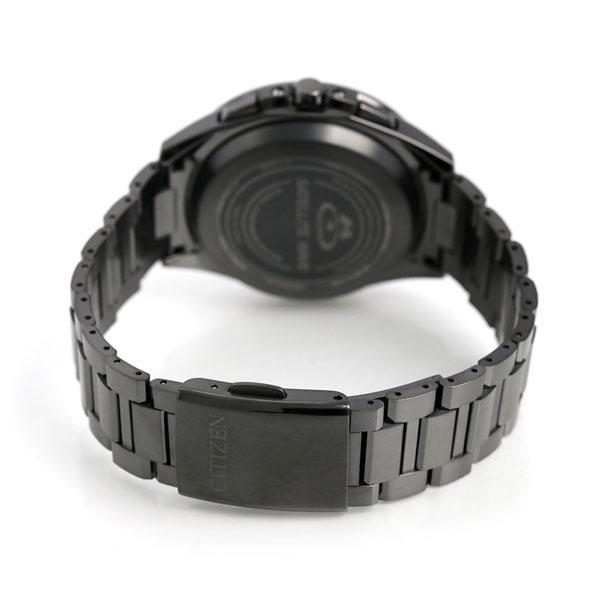 シチズン アテッサ GPS エコドライブ 電波ソーラー F900 腕時計 チタン CC9017-59G CITIZEN オールブラック 時計