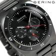 ベーリング リンク セラミック 40mm クオーツ メンズ 32341-792 BERING 腕時計 オールブラック