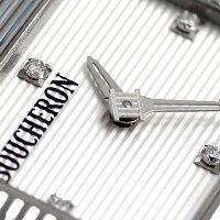 ブシュロンBOUCHERONリフレ21mmスイス製レディースWA009402腕時計シルバー×ブラック