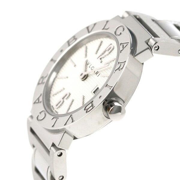 【25日は2万円割引クーポンにポイント最大22倍】ブルガリ時計BVLGARIブルガリ26mmクオーツ腕時計BB26WSSDシルバー【あす楽対応】