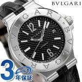ブルガリ BVLGARI ディアゴノ 40mm 自動巻き メンズ 腕時計 DG40BSLD ブラック