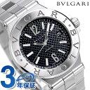 ブルガリ 時計 メンズ BVLGARI ディアゴノ 40mm 自動巻き 腕時計 DG40BSSD ブ...