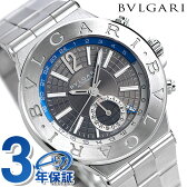 ブルガリ BVLGARI ディアゴノ クラシック 40mm 自動巻き DG40C14SSDGMT 腕時計 シルバー