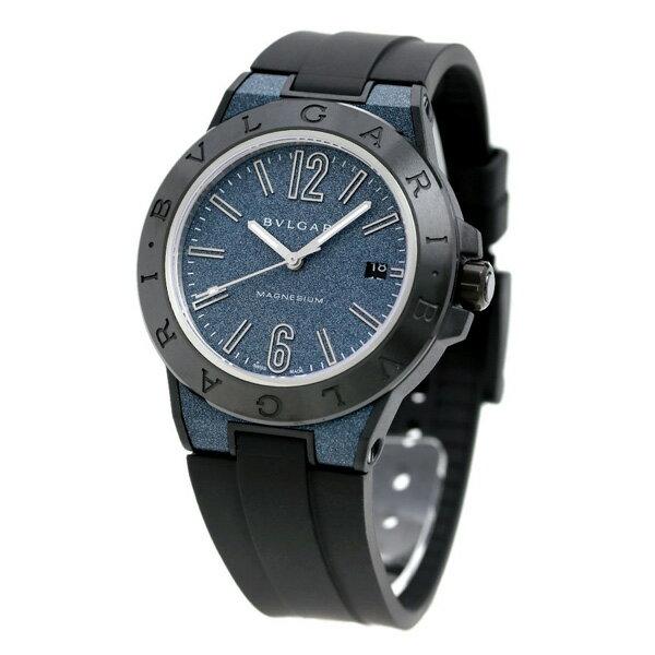 ブルガリ 時計 BVLGARI ディアゴノ マグネシウム 41mm 自動巻き メンズ 腕時計 DG41C3SMCVD ブルー×ブラック