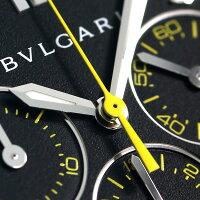 ブルガリ BVLGARI ディアゴノ ウルトラネロ 自動巻き クロノグラフ DG42BBSCVDCH/2 腕時計