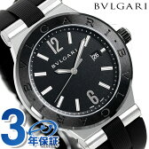 ブルガリ BVLGARI ディアゴノ 42mm 自動巻き メンズ DG42BSCVD 腕時計 ブラック