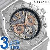 ブルガリ BVLGARI ディアゴノ カリブロ 303 自動巻き メンズ DG42C14SWGSDCH 腕時計 グレー