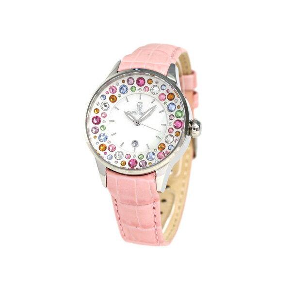 カプリウォッチ ミッレフィオーリ 38mm スワロフスキー 腕時計 Art 5265 04 CAPRI WATCH ピンク 時計