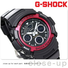 [新品][3年保証]AW-591-4ADR g-shock アナデジ 腕時計 レッド GSHOCK G-SHOCK カシオ【あす楽対...