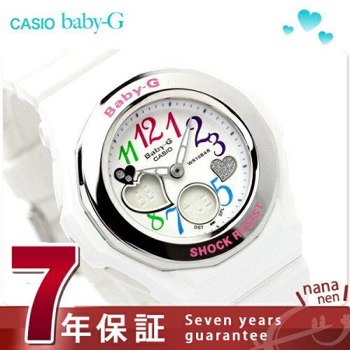 カシオ Baby-G 腕時計 ベビーG BGA-101-7BDR Gemmy Dial Series ホワイト