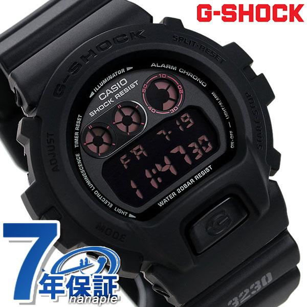 【7月下旬入荷予定 予約受付中♪】G-SHOCK CASIO DW-6900MS-1DR MAT BLACK RED EYE 腕時計 カシオ Gショック 時計