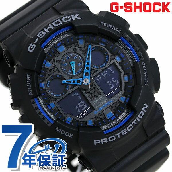 腕時計, メンズ腕時計 G-SHOCK CASIO GA-100-1A2DR G New