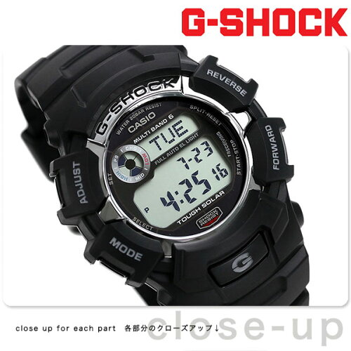 GW-2310-1CR CASIO G-SHOCK G-ショック 電波 ソーラー スタンダードモデル ブラック