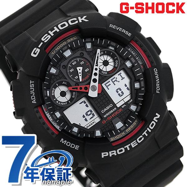 腕時計, メンズ腕時計 305421 G-SHOCK CASIO GA-100-1A4DR G New