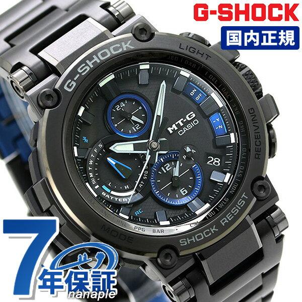 腕時計, メンズ腕時計 G-SHOCK G MTG-B1000 Bluetooth MTG-B1000BD-1AJF CASIO