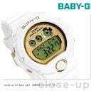 Baby-G 白 レディース ベビーG カシオ 腕時計 6900シリーズ ゴールド × ホワイト CASIO BG-6901-7DR 時計