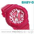 カシオ Baby-G 腕時計 ベビーG ネオンダイアルシリーズ ピンク BGA-130-4BDR