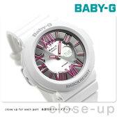 CASIO Baby-G ネオンダイアルシリーズ アナデジ シルバー×ピンク BGA-160-7B2DR