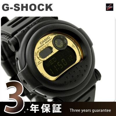 Gショック ウィンターゴールドシリーズ 腕時計 メンズ ブラック×ゴールド CASIO G-SHOCK G-001CB-1DR【あす楽対応】