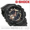 G-SHOCK CASIO GA-110RG-1ADR 腕時計 カシオ Gショック ローズゴールドシリーズ ブラック × ローズゴールド 時計